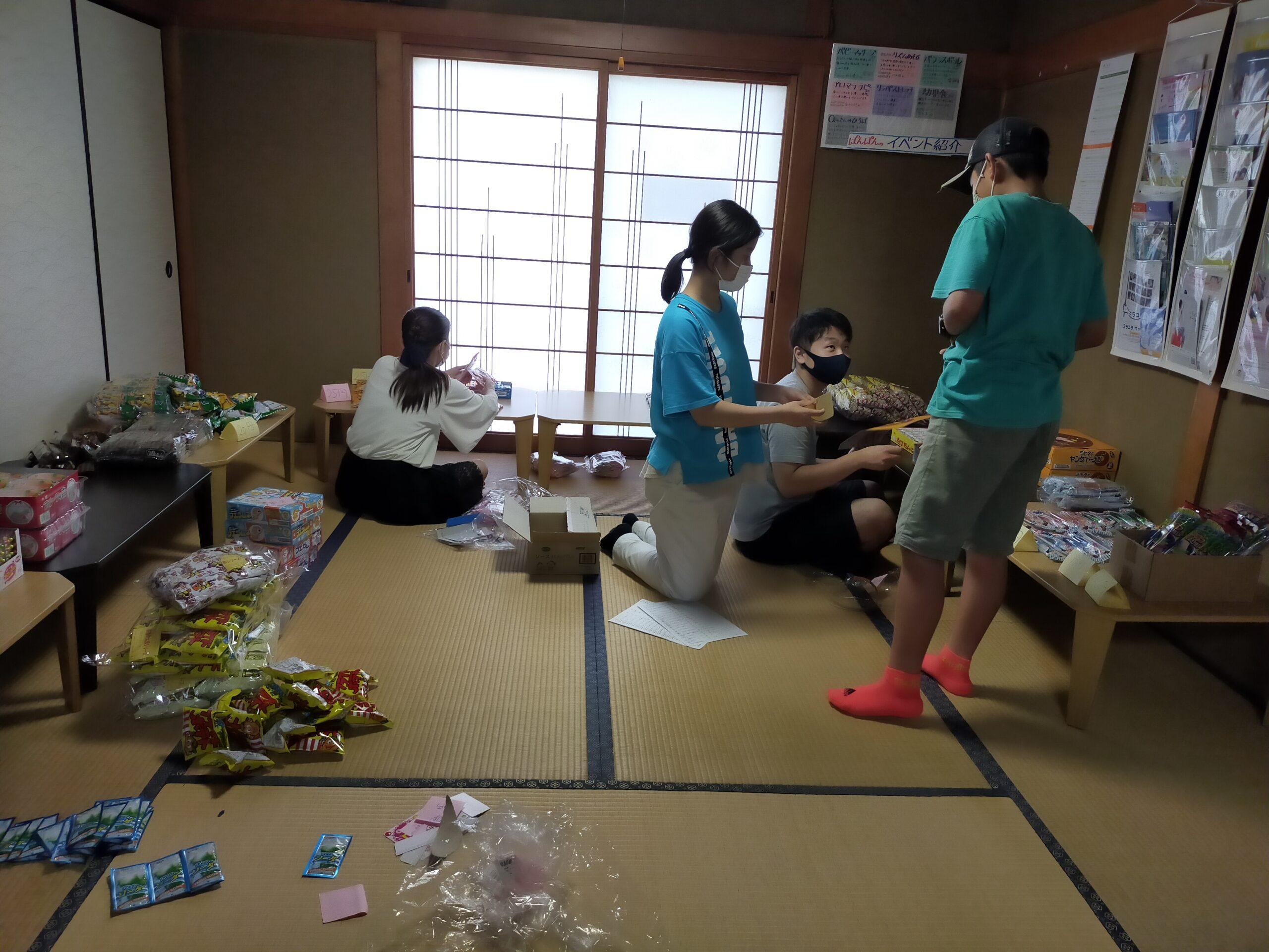 ぽんぽんの駄菓子屋さん 開催しました!